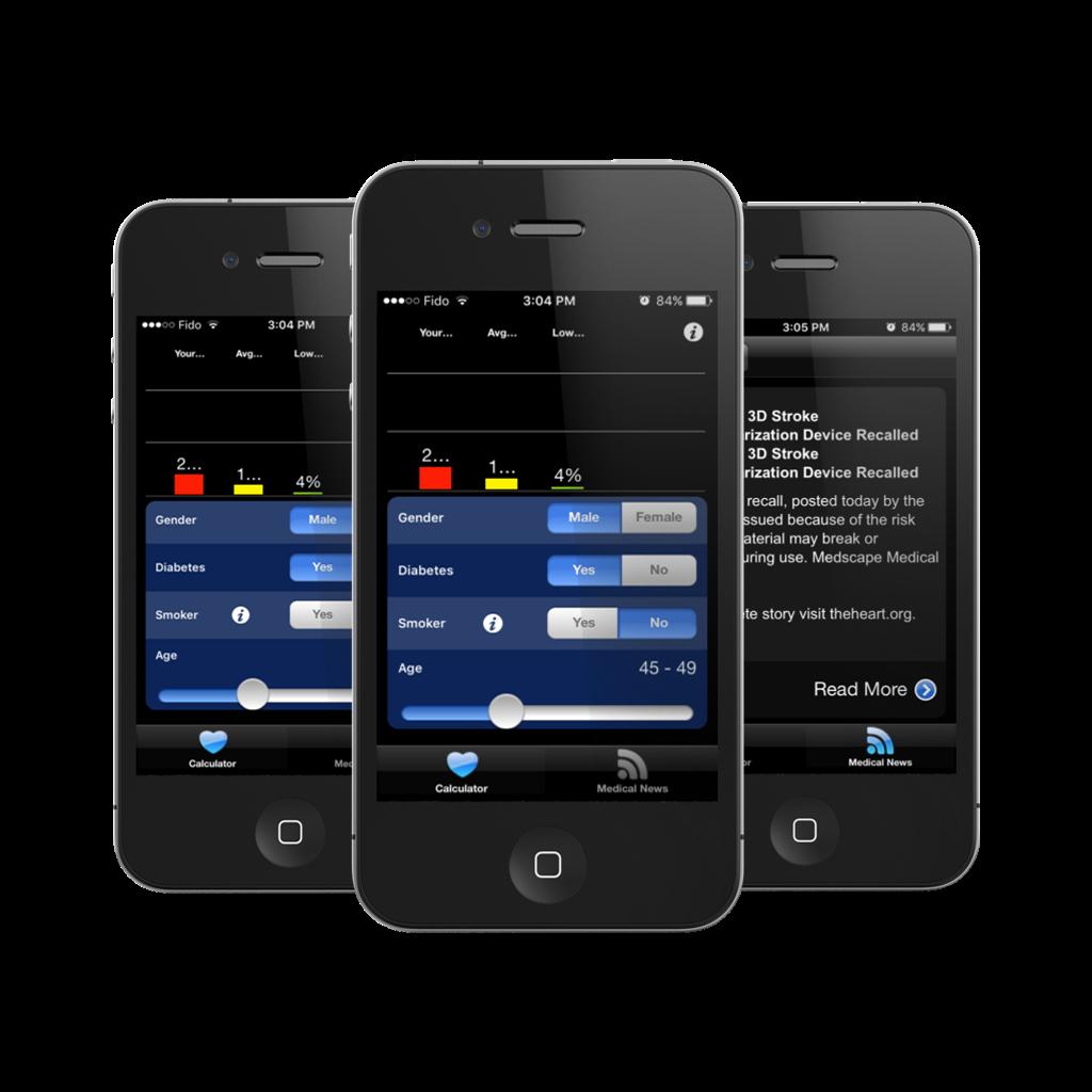 Heart Risk Medical Calculator app for iOS