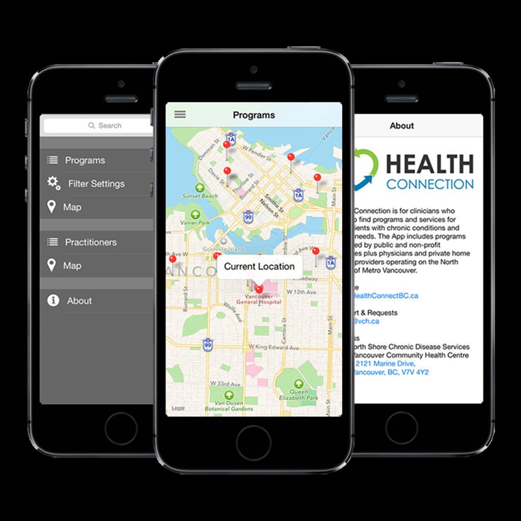 HealthConnection Healthcare App for iOS