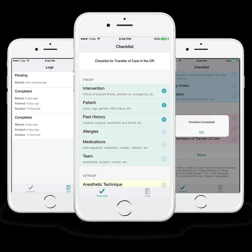 AnesList - Medical App